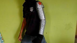 como fazer braço bionico soldado invernal (Capitão América Guerra Civil) parte 1