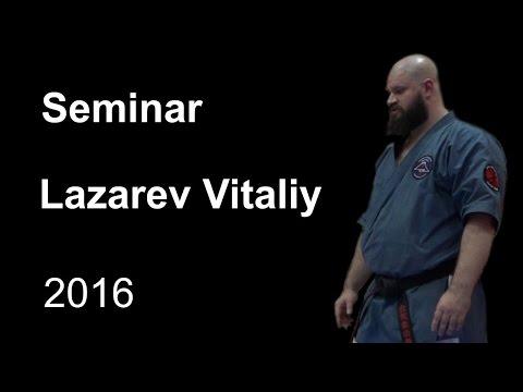 Demonstration 16: sensei Lazarev Vitaliy Aikido & Aikijujutsu Yoseikan Russia Sistema Samooborony