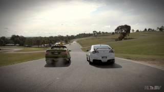 getlinkyoutube.com-GTS Maloo vs GTS Sedan Drag Race