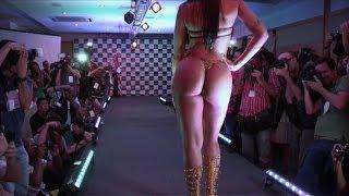 getlinkyoutube.com-Compiten por mejor trasero de Brasil