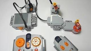 getlinkyoutube.com-LEGO Power Functions IR Receiver Controlling EV3 L-Motor and M-Motor