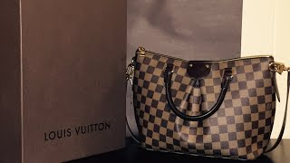 getlinkyoutube.com-Louis Vuitton Siena PM Handbag Review + Modeling Shots
