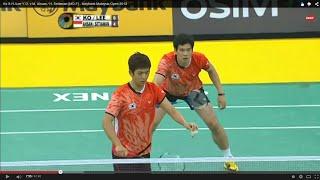 ini ni video final MD dalam ajang Malaysia Open SS 2013 .. antara ahsan/hendra vs yongdae/sunghyun ... langsung aja liat vitinya gan ..