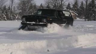 getlinkyoutube.com-Bronco + Mattracks= Unstoppable!