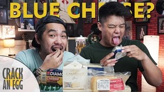 getlinkyoutube.com-Orang Indonesia Cobain Blue Cheese! | Cheese Blind Taste Test #TGIF