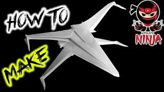 getlinkyoutube.com-How To Fold: Paper Star Wars X-Wing