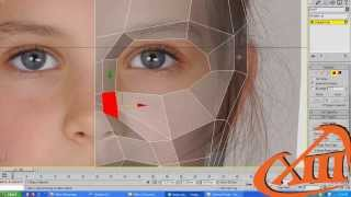getlinkyoutube.com-Tutorial - head modeling from box - normal speed