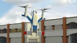 getlinkyoutube.com-NASA Puffin Low Noise, Electric VTOL Personal Air Vehicle