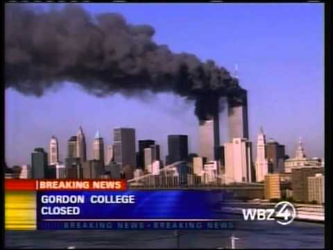 9/11 UPN CBS News Coverage WSBK Boston September 11, 2001 5:30 to 5:45 pm