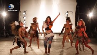 getlinkyoutube.com-Tatiana Stefan canta Whenever Wherever - Videoclip Finala - KIDSing 2014