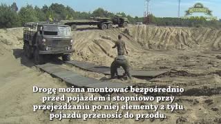 getlinkyoutube.com-Demonstracja rozkładania płyt drogowych lekkich