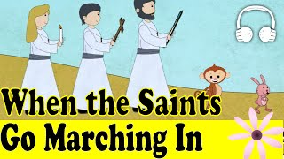 getlinkyoutube.com-When the Saints Go Marching In | Family Sing Along - Muffin Songs
