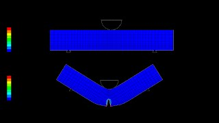 getlinkyoutube.com-XFEM simulation of SENB in ABAQUS (3-Point Bending Specimen)