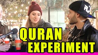getlinkyoutube.com-Holy Quran Experiment in New York City