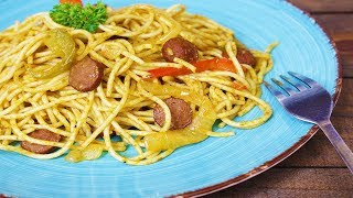 ❤ Love For Haitian Food - Episode 39 - How to make Haitian style Spaghetti w/Hotdogs