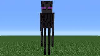 getlinkyoutube.com-Minecraft Tutorial: How To Make An Enderman Statue