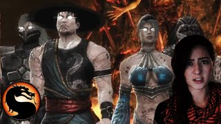 getlinkyoutube.com-Mortal Kombat 9 Gameplay - Chapter 16 - Raiden vs Kitana, Nightwolf, & Kung Lao