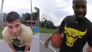 getlinkyoutube.com-NBA 2k15 IRL CashNasty Vs GayFish! A+ GREEN 3 Point Cheese!! BEAST GAMEPLAY!