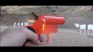 getlinkyoutube.com-Viewer Request Video 16: Redneck Liberator -  Olin Flare Pistol with 22 conversion
