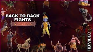 getlinkyoutube.com-Little Krishna Back to Back Fights | HD | English