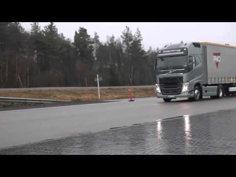 System awaryjnego hamowania w Volvo FH