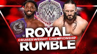 Neville vs Rich Swann  - Cruiseweight Champion -  Royal Rumble 2017 width=