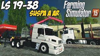 getlinkyoutube.com-MERCEDES 19-38 COM SUSPA A AR DIANTEIRA - FAZENDO SERRAGEM -  FARMING 15 -  G27!!!