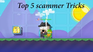 getlinkyoutube.com-Growtopia | Top 5 Scammer Tricks