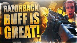 getlinkyoutube.com-RAZORBACK BUFF is GREAT! Razorback w/ ELO Sight SLAPS Enemy Team! Black Ops 3 LIVE Gameplay w/ Swagg