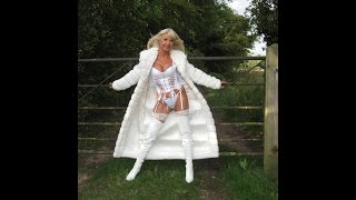 getlinkyoutube.com-White Basque & PVC thigh boots