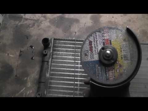 Где находится в Lada Kalina радиатор кондиционера