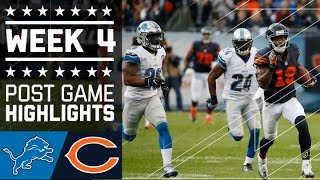 getlinkyoutube.com-Lions vs. Bears (Week 4) | Game Highlights | NFL