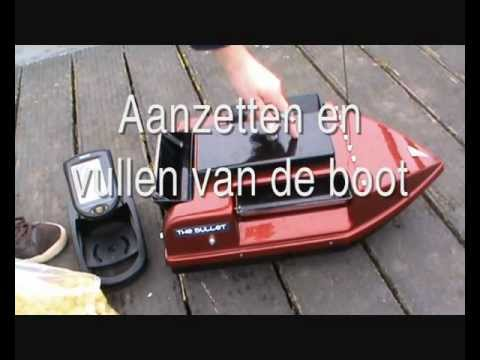 informatie film voerboot/baitboat the bullet buiten/outside.wmv