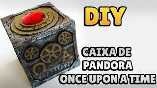 DIY: CAIXA DE PANDORA - ONCE UPON A TIME (Pandora's Box Tutorial)   Ideias Personalizadas - DIY