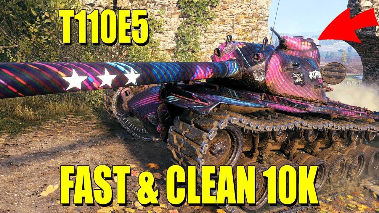 T110E5: Close, fast & furios
