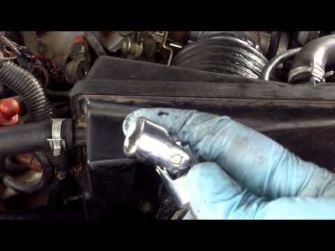 How to replace the knock sensore on Nissan Maxima or Infiniti I