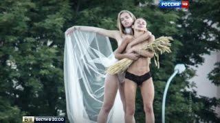 getlinkyoutube.com-Литва заменила историю на голых девиц