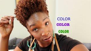 getlinkyoutube.com-Hair COLOR Vlog, Pros & Cons, My Experience ( Type 4 Hair)