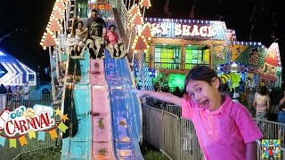 getlinkyoutube.com-Carnival Fair kids rides / toys and fun !!