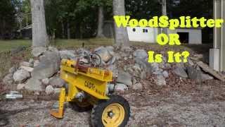 getlinkyoutube.com-Wood Splitter That Does More Than Split Wood - Two Stage Wedge