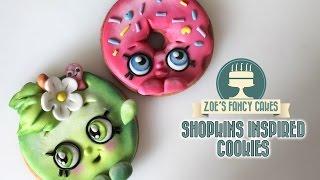 Shopkins cookies tutorial collaboration video