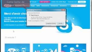 getlinkyoutube.com-Télécharger et installer Skype