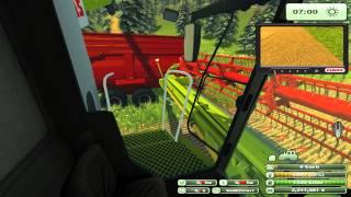 getlinkyoutube.com-Let's Play Landwirtschafts Simulator 2013 #050 [Deutsch] - Mähdreschen mit CLAAS 780 Terra Trac