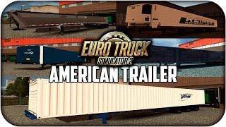 getlinkyoutube.com-US Trailer pack Edit | Cargas americanas | Euro truck simulator 2 | 1.13 --- 1.16