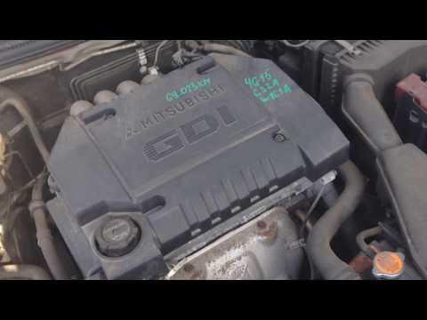 4G15 Mitsubishi Lancer CS2A Контрактный мотор видео из Японии