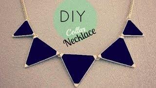 getlinkyoutube.com-DIY collar necklace