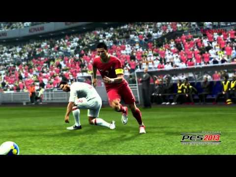 PES 2013 Индивидуальный стиль футболистов