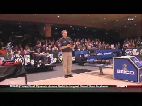 2012 USBC Alka Selzer Plus Liquid Gels Masters: Semifinal Match: Bryon Smith vs Mike Fagan