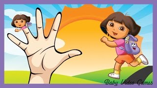Dora the Explorer Children Songs Kids Nursery Rhymes | Daddy Finger Family