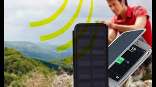 getlinkyoutube.com-Never plug in chargers to charge phones again! Solar case review